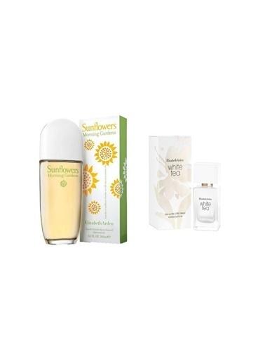 Elizabeth Arden Elizabeth Arden Sunflowers Ning Garden Edt Çiçeksi Kokulu 100 Ml Kadın Parfüm + White Tea Edt 30 Ml Kadın Parfüm Renksiz